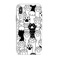 Lex Altern Cat Paws Phone Case for your iPhone & Android phone.