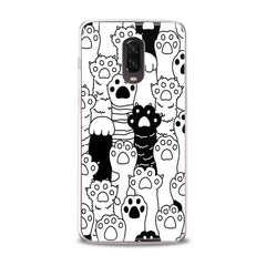 Lex Altern TPU Silicone Phone Case Cat Paws