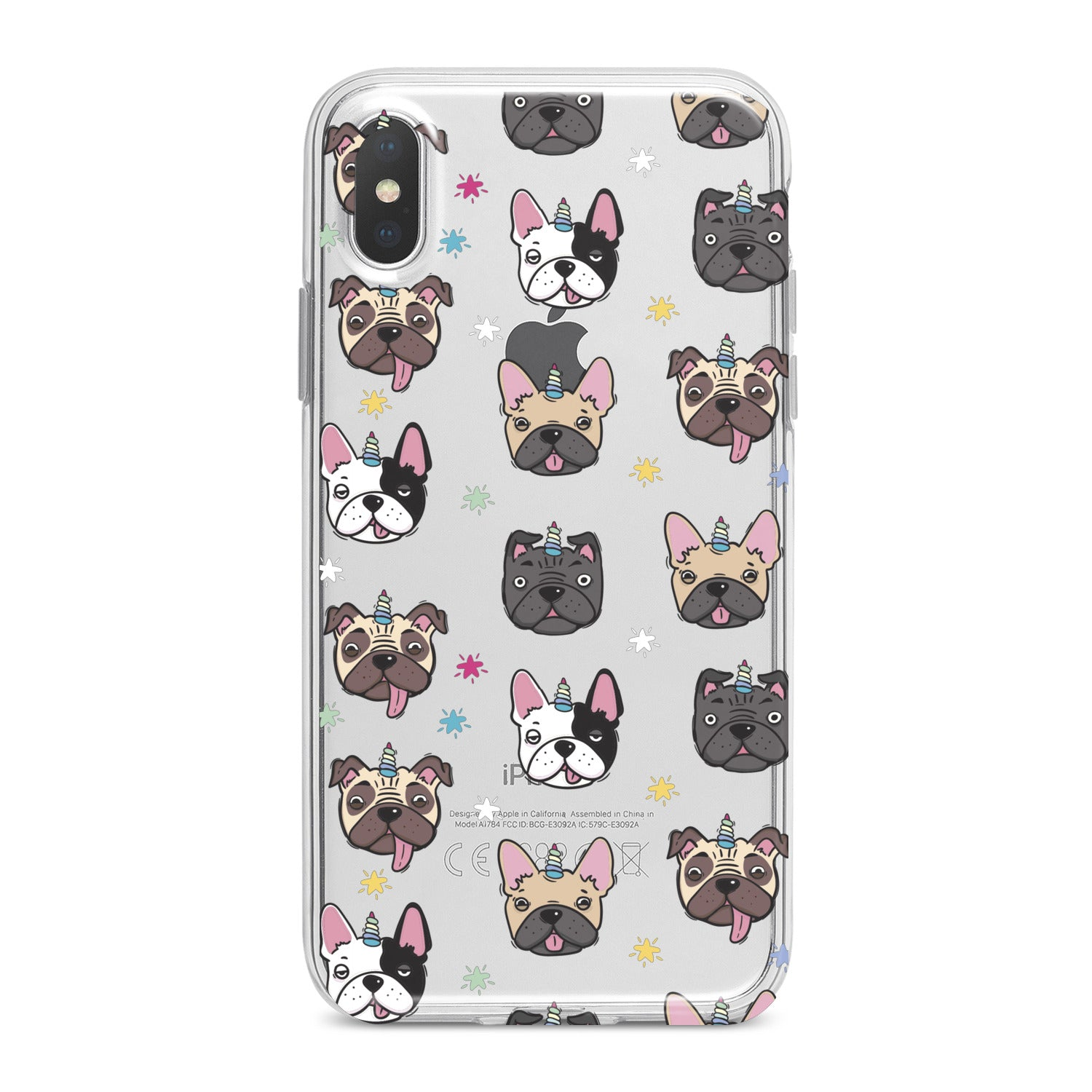 Lex Altern Cute Dog Pttern Phone Case for your iPhone & Android phone.