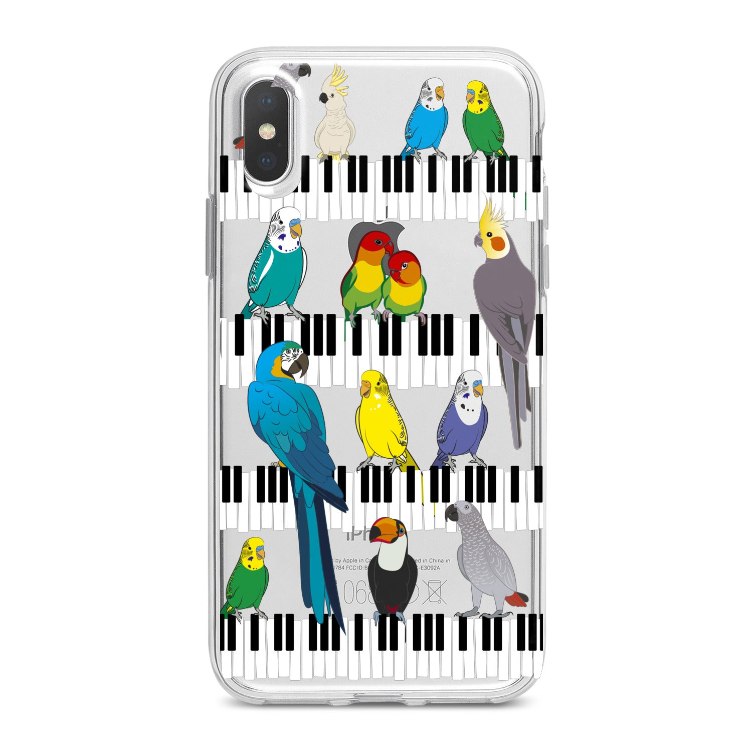 Lex Altern Colorful Parrots Phone Case for your iPhone & Android phone.