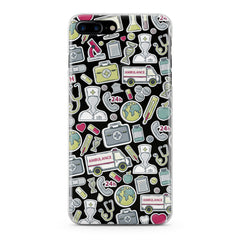 Lex Altern Nice Medical Stickers Phone Case for your iPhone & Android phone.