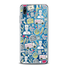Lex Altern TPU Silicone Huawei Honor Case Nice Medical Stickers