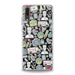 Lex Altern Nice Medical Stickers Huawei Honor Case