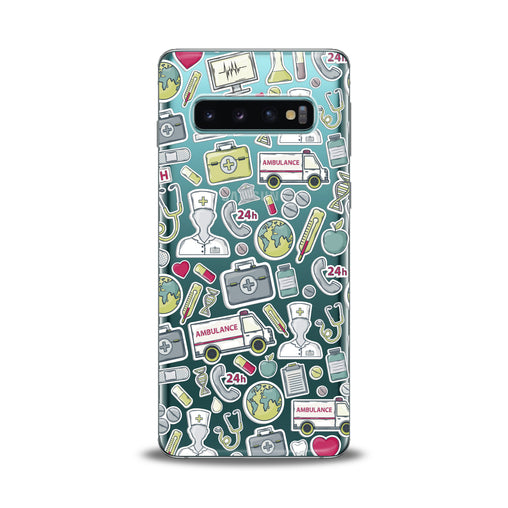 Lex Altern Nice Medical Stickers Samsung Galaxy Case