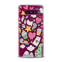Lex Altern TPU Silicone Phone Case Lovely Stickers Art