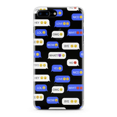 Lex Altern Message Pattern Phone Case for your iPhone & Android phone.