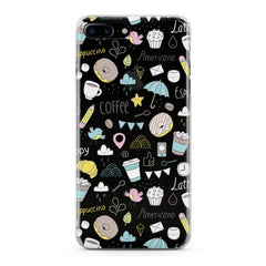 Lex Altern Sweets Coffee Pattern Phone Case for your iPhone & Android phone.