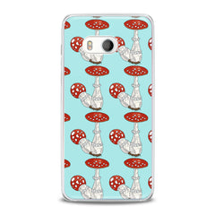 Lex Altern Bright Amanita Pattern HTC Case
