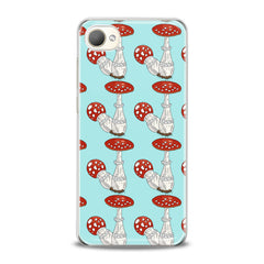 Lex Altern TPU Silicone HTC Case Bright Amanita Pattern