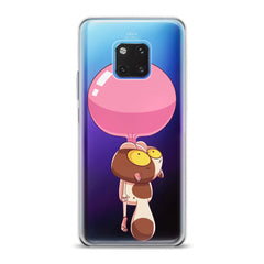 Lex Altern TPU Silicone Huawei Honor Case Cat Bubble Gum