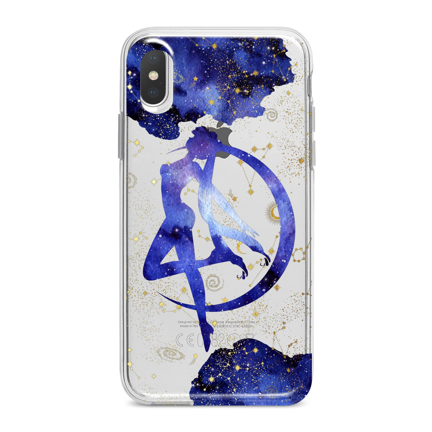 Lex Altern Blue Watercolor Sailor Moon Phone Case for your iPhone & Android phone.