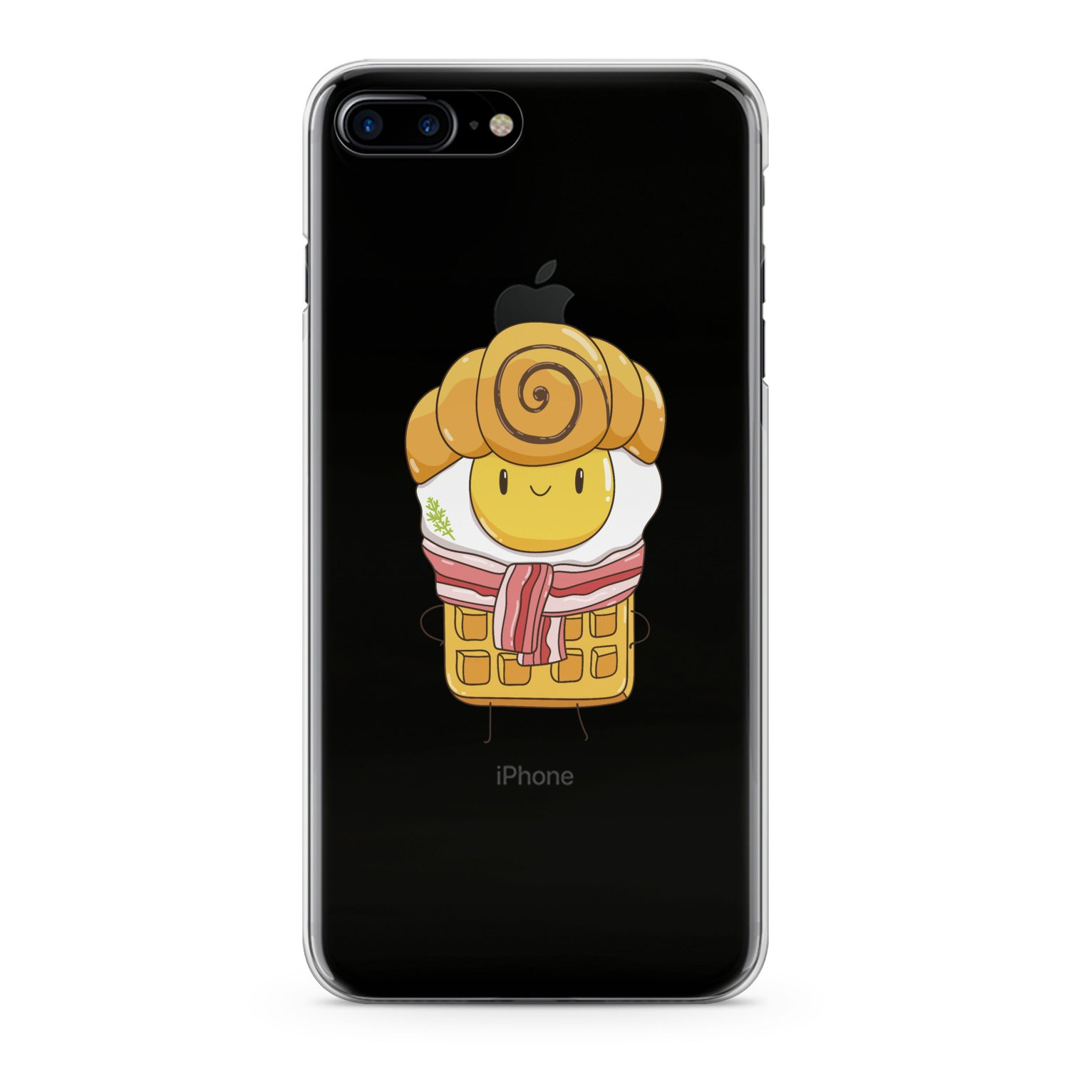 Lex Altern Cute Breakfast Phone Case for your iPhone & Android phone.