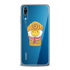 Lex Altern TPU Silicone Huawei Honor Case Cute Breakfast