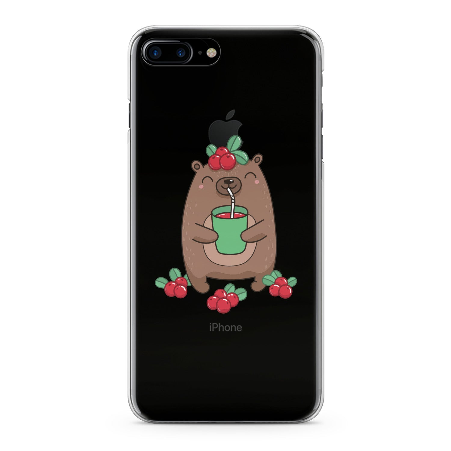 Lex Altern Kawaii Baby Bear Phone Case for your iPhone & Android phone.