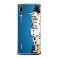 Lex Altern TPU Silicone Huawei Honor Case Right Cats