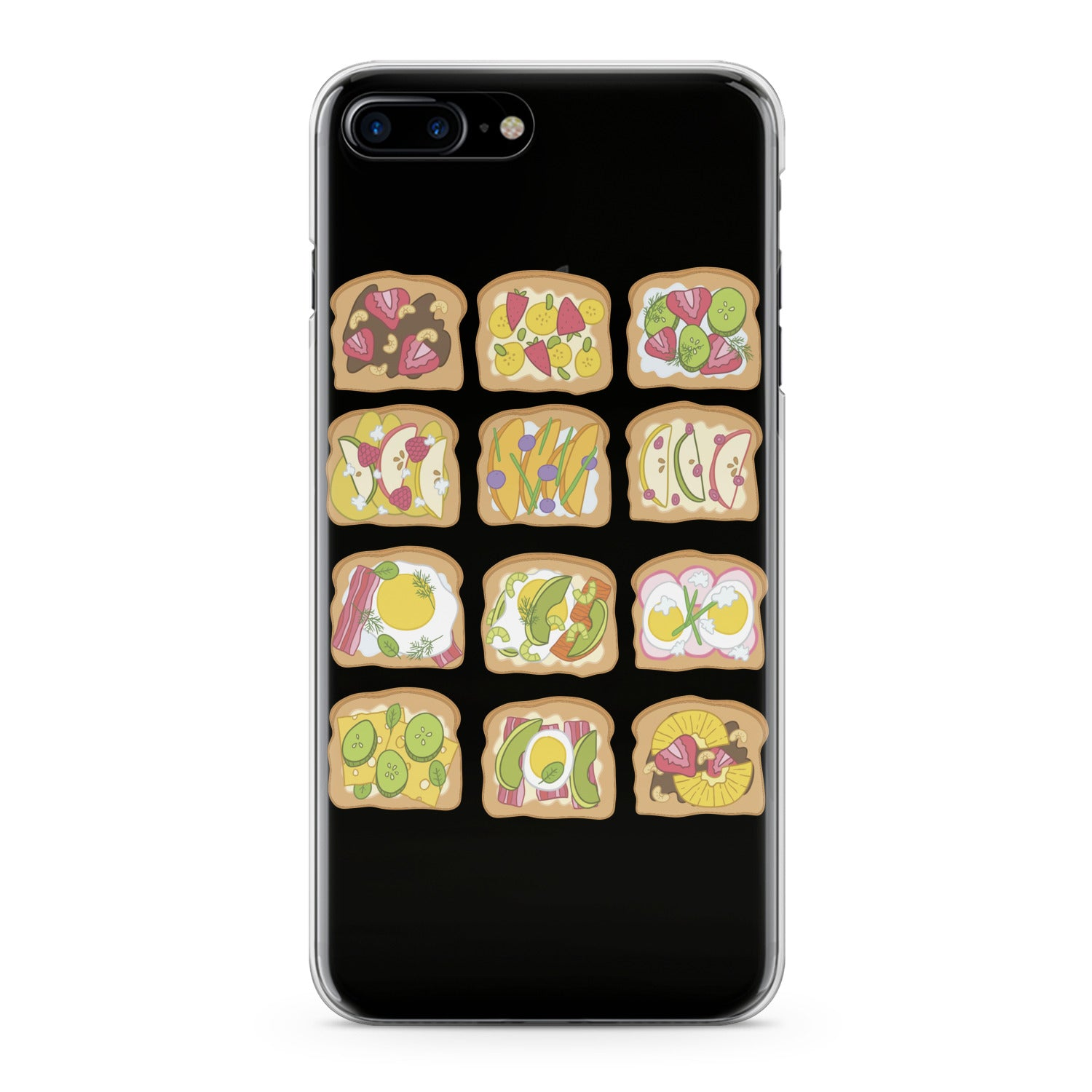 Lex Altern Fresh Sandwiches Phone Case for your iPhone & Android phone.