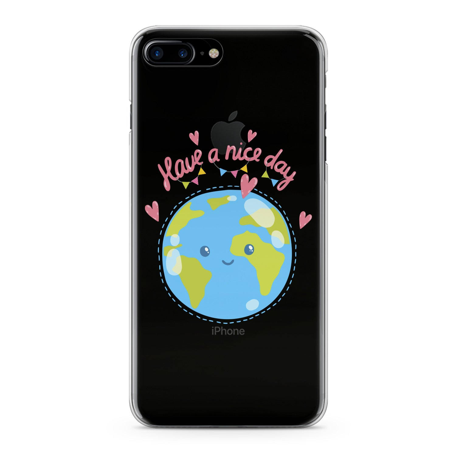 Lex Altern Cutie Blue Earth Phone Case for your iPhone & Android phone.