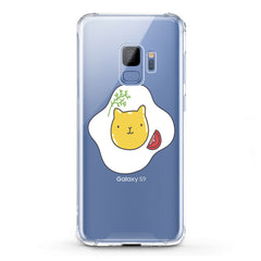 Lex Altern TPU Silicone Phone Case Felines Scrambled Egg