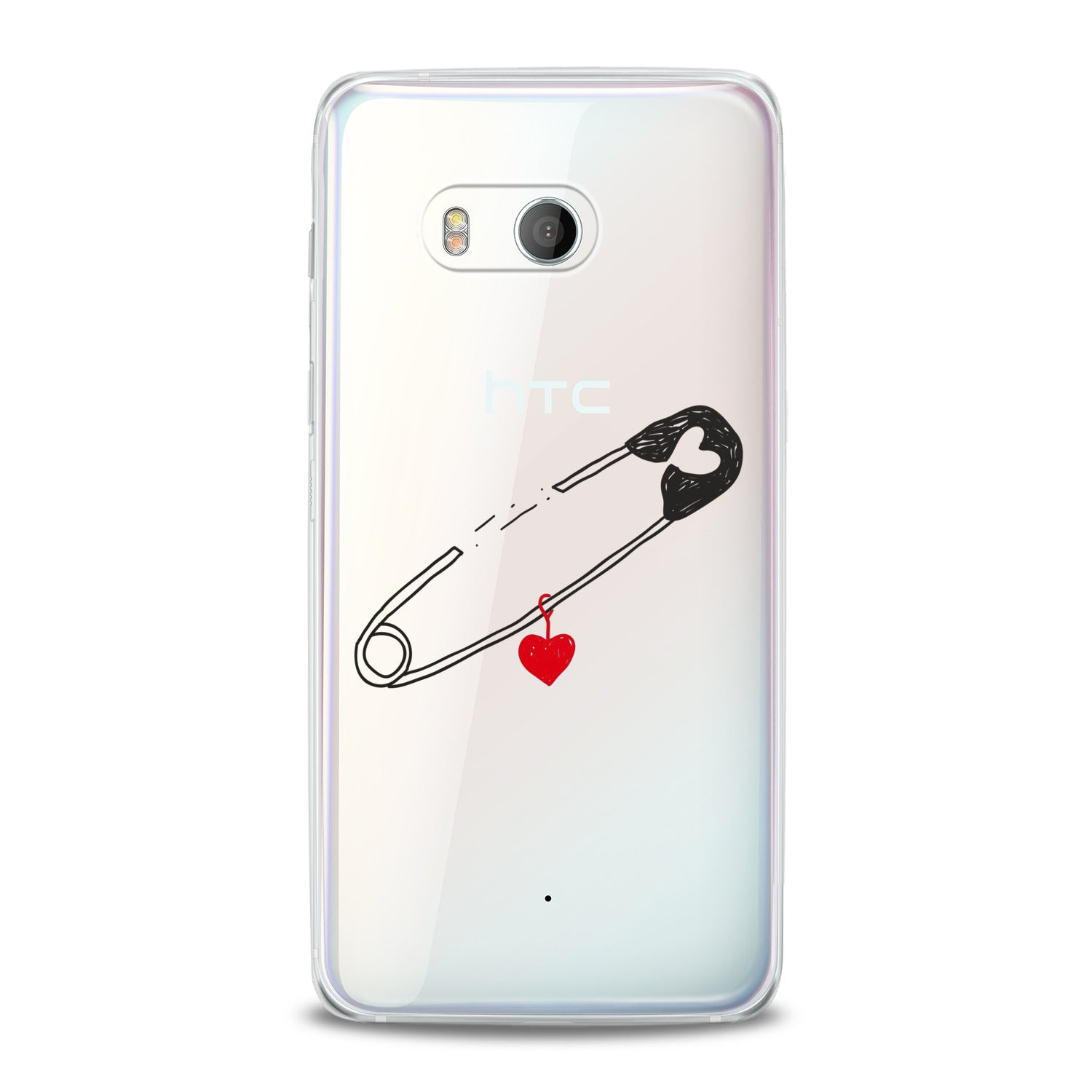 Lex Altern Pinned Heart HTC Case