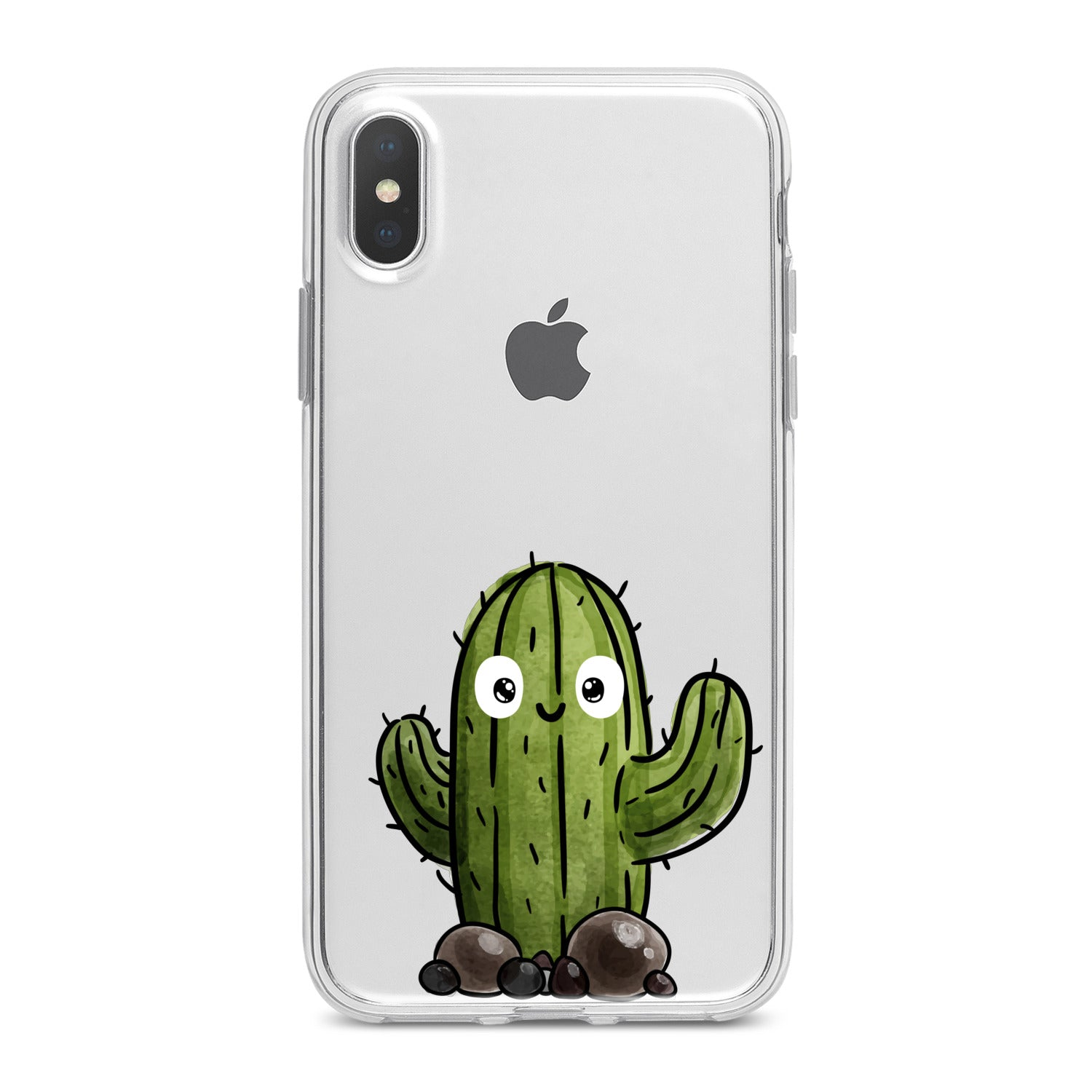 Lex Altern Kawaii Cacti Print Phone Case for your iPhone & Android phone.