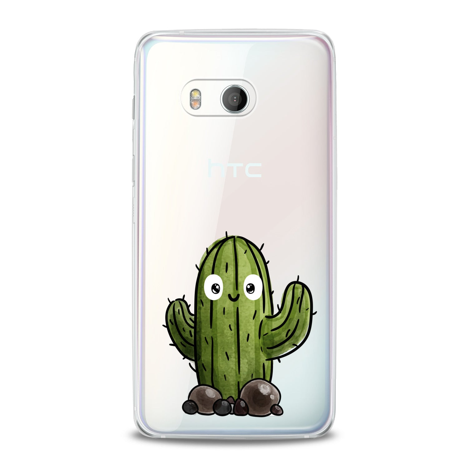 Lex Altern Kawaii Cacti Print HTC Case