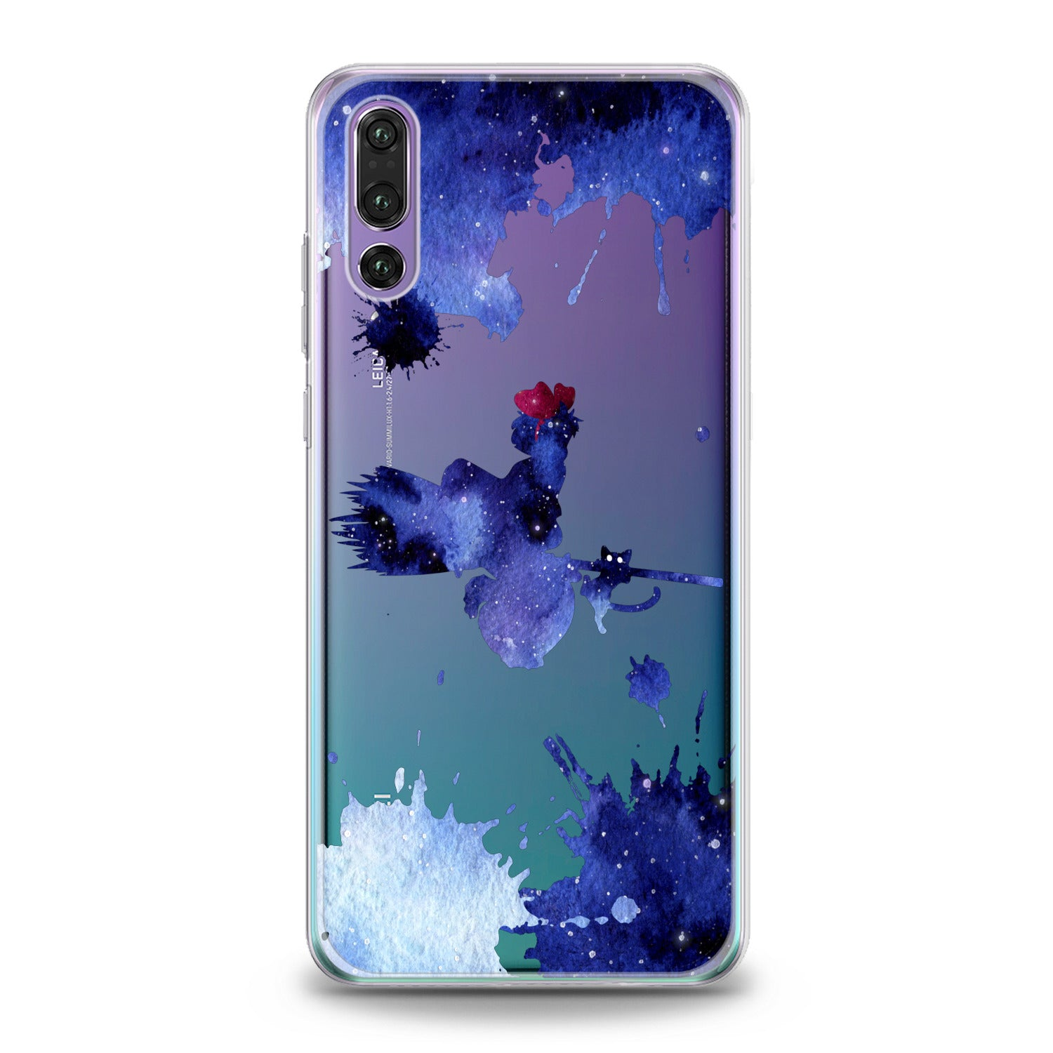 Lex Altern Blue Watercolor Witch Huawei Honor Case