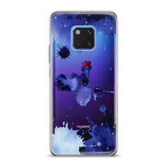 Lex Altern TPU Silicone Huawei Honor Case Blue Watercolor Witch