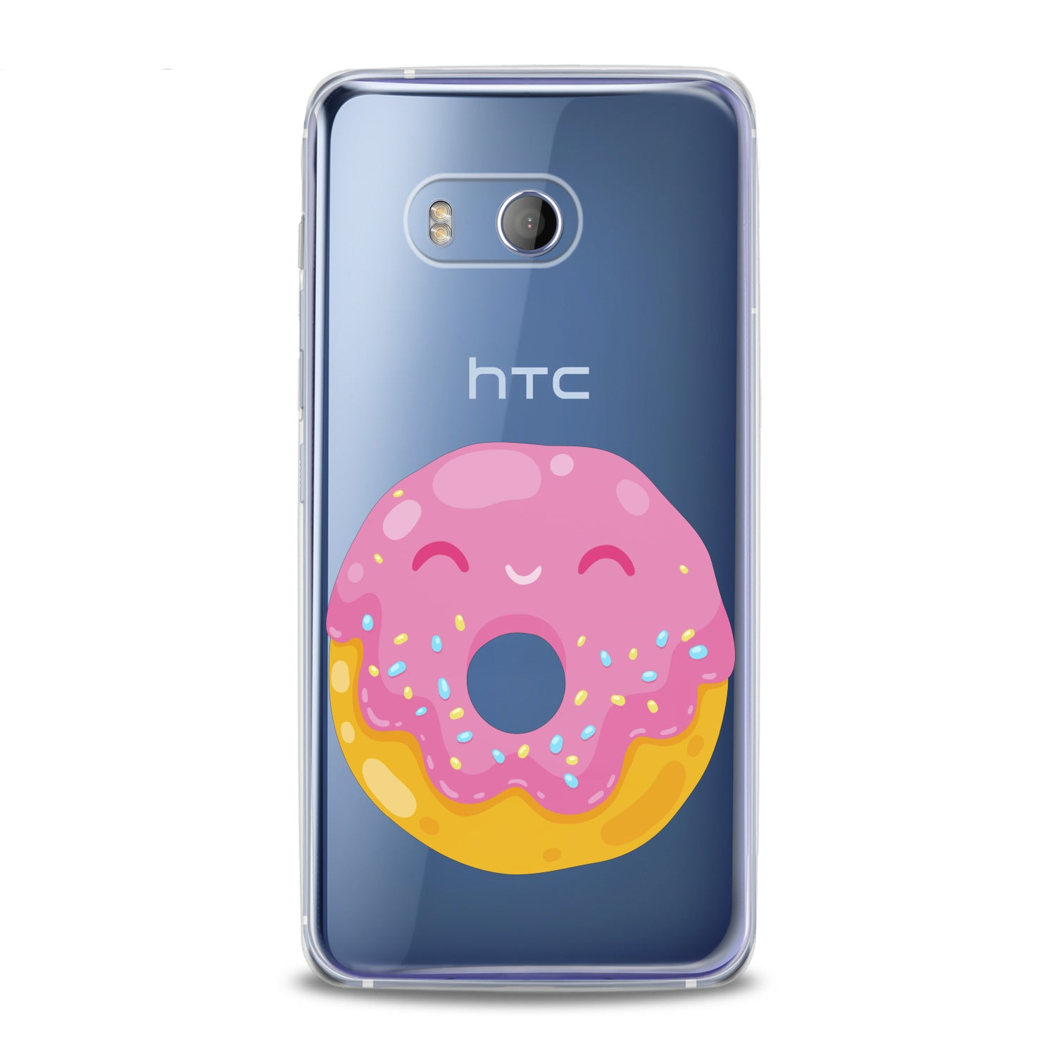 Lex Altern Cute Pink Donut HTC Case