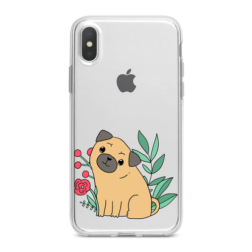 Lex Altern Cute Puppy Pug Dog Phone Case for your iPhone & Android phone.