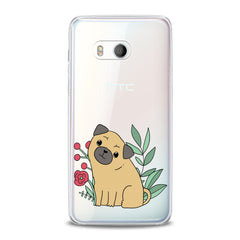 Lex Altern Cute Puppy Pug Dog HTC Case