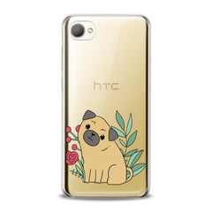 Lex Altern TPU Silicone HTC Case Cute Puppy Pug Dog
