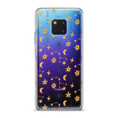 Lex Altern TPU Silicone Huawei Honor Case Yellow Constellations