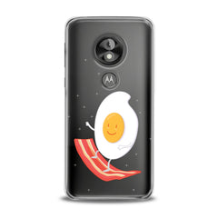 Lex Altern TPU Silicone Phone Case Egg Bacon Surfing