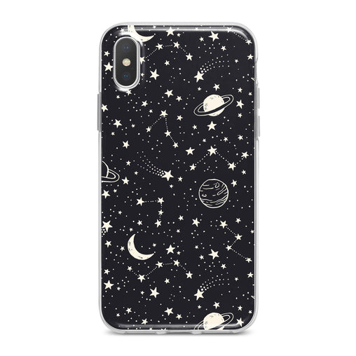 Lex Altern White Constellation Art Phone Case for your iPhone & Android phone.
