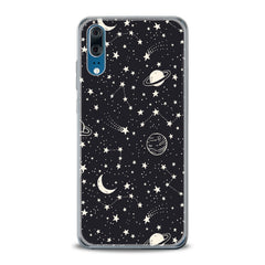 Lex Altern TPU Silicone Huawei Honor Case White Constellation Art