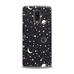 Lex Altern TPU Silicone Phone Case White Constellation Art