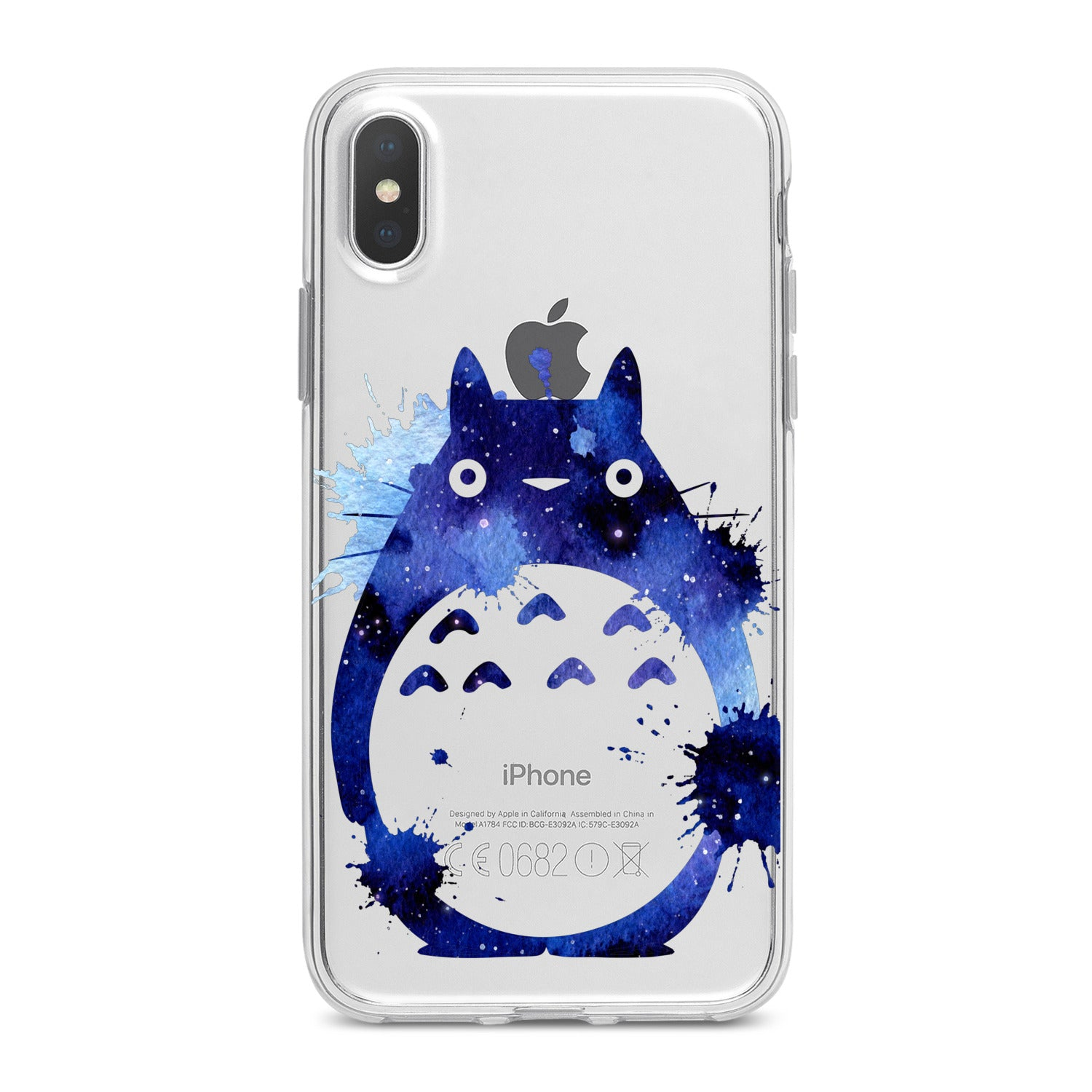 Lex Altern Watercolor Totoro Phone Case for your iPhone & Android phone.