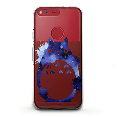 Lex Altern TPU Silicone Phone Case Watercolor Totoro