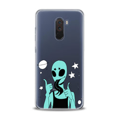 Lex Altern Green Crazy Alien Xiaomi Redmi Mi Case