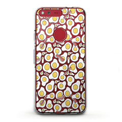 Lex Altern TPU Silicone Phone Case Scrambled Eggs Pattern