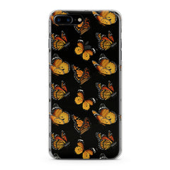 Lex Altern TPU Silicone Phone Case Yellow Butterflies