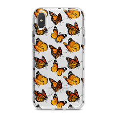 Lex Altern Yellow Butterflies Phone Case for your iPhone & Android phone.