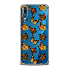 Lex Altern TPU Silicone Huawei Honor Case Yellow Butterflies