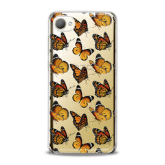 Lex Altern TPU Silicone HTC Case Yellow Butterflies