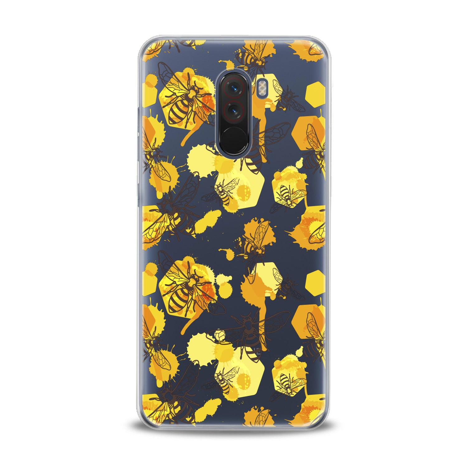 Lex Altern Watercolor Yellow Bee Xiaomi Redmi Mi Case