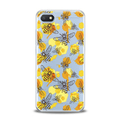 Lex Altern TPU Silicone Xiaomi Redmi Mi Case Watercolor Yellow Bee