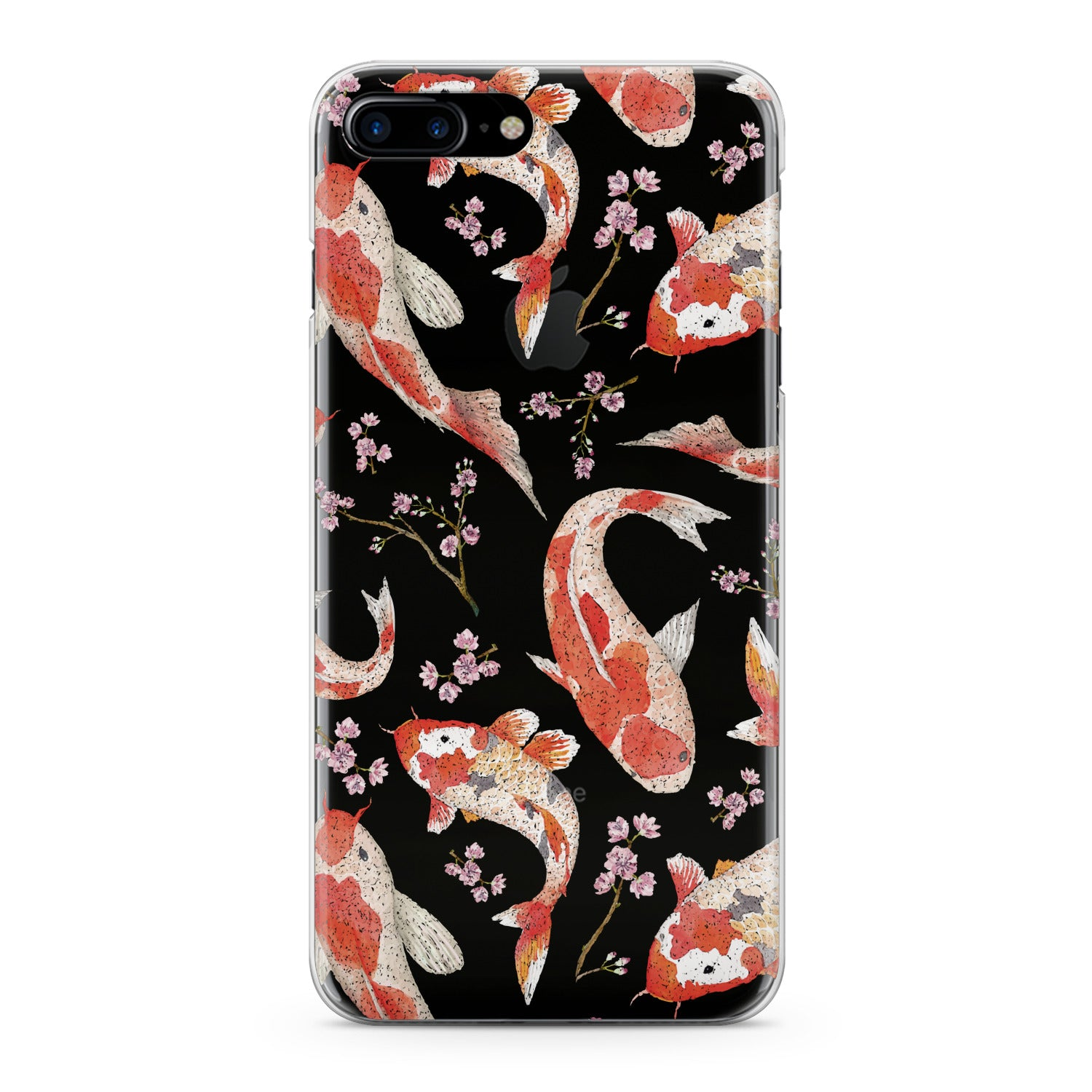 Lex Altern Orange Koi Fishes Phone Case for your iPhone & Android phone.