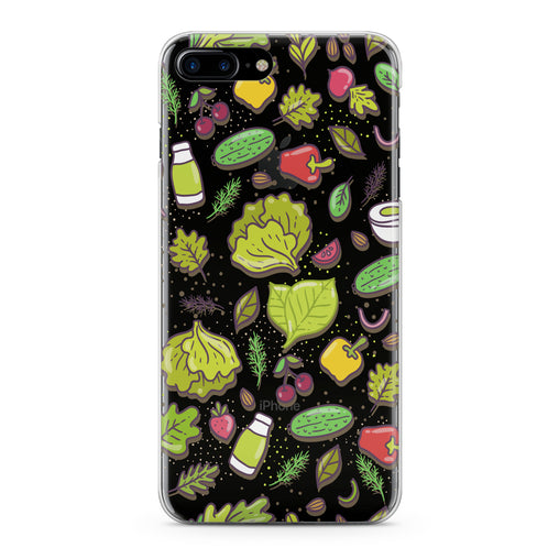 Lex Altern Veggie Bright Pattern Phone Case for your iPhone & Android phone.