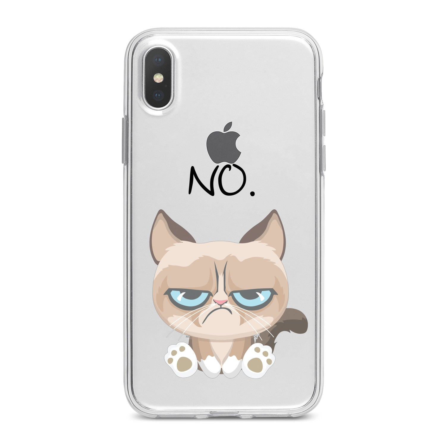 Lex Altern Grumpy Feline Phone Case for your iPhone & Android phone.
