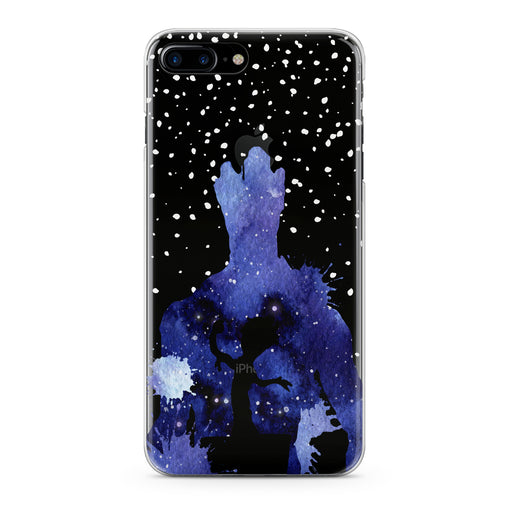 Lex Altern Blue Watercolor Groot Phone Case for your iPhone & Android phone.